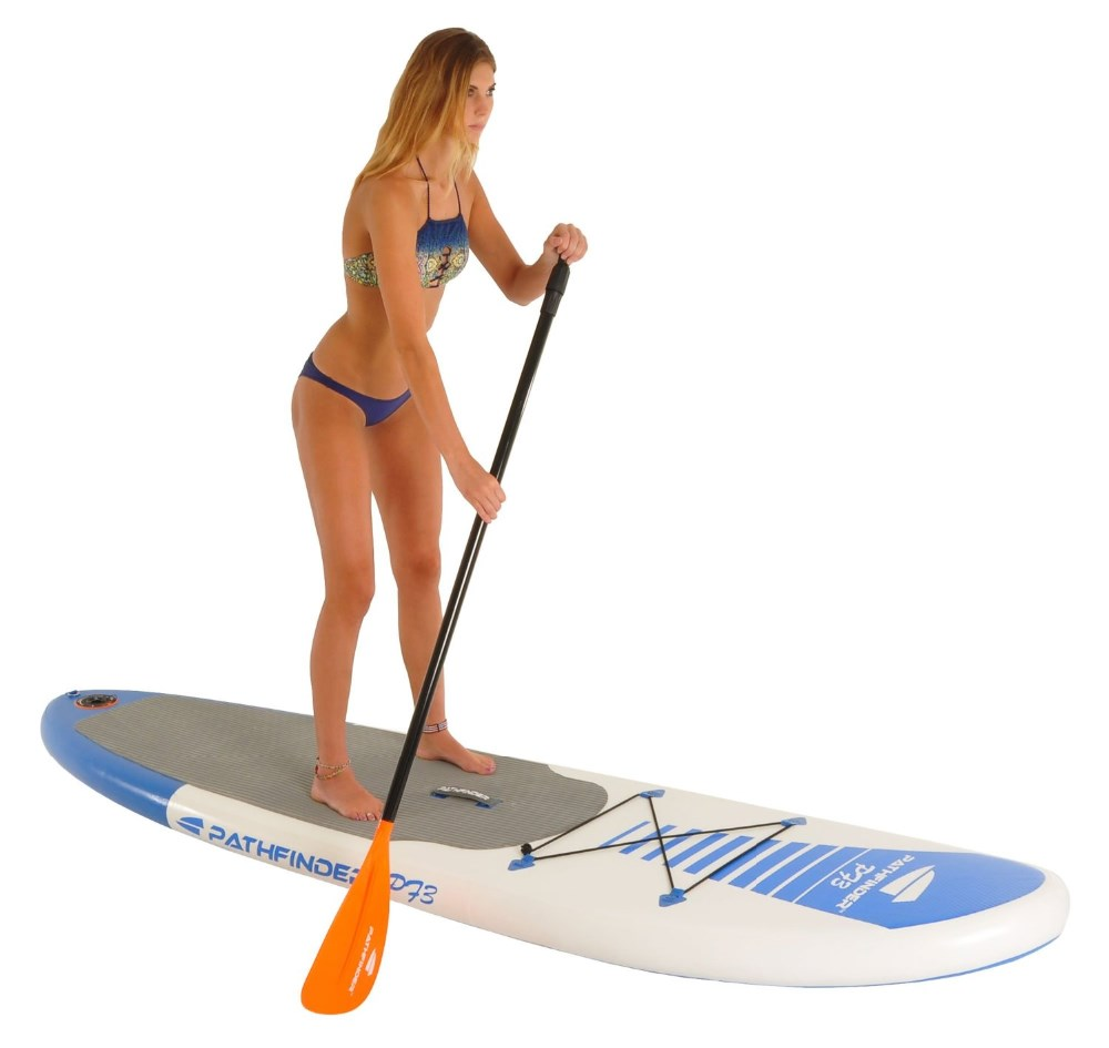 Inflatable Standard Up Paddle Board Surfing board SUP Surfboard include paddle+hand pump+bag(China)
