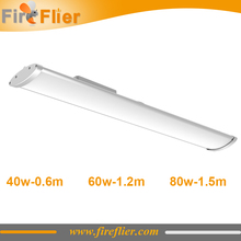 4pcs 40w 60w high bay tube light 80w 5ft 4ft 2ft batten light waterproof for warehouse factory warkshop lamp 1.2m 1.5m storage