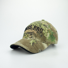 New 2017 Camouflage Men Cap Summer Hat Bass pro shops Man Casual Baseball Cap Back Mesh Hat Promotion High Quality(China)