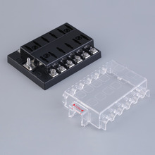 New 12 Way Circuit Car ATC ATO Blade Fuse Box Block Holder 32V Terminals hot selling