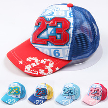 New Arrival Baby Hats for Boys & Girls Cartoon Mouse Baseball Caps Summer Kids Hat Casual Children Sun Caps for 2-6 Yrs MZ03(China)