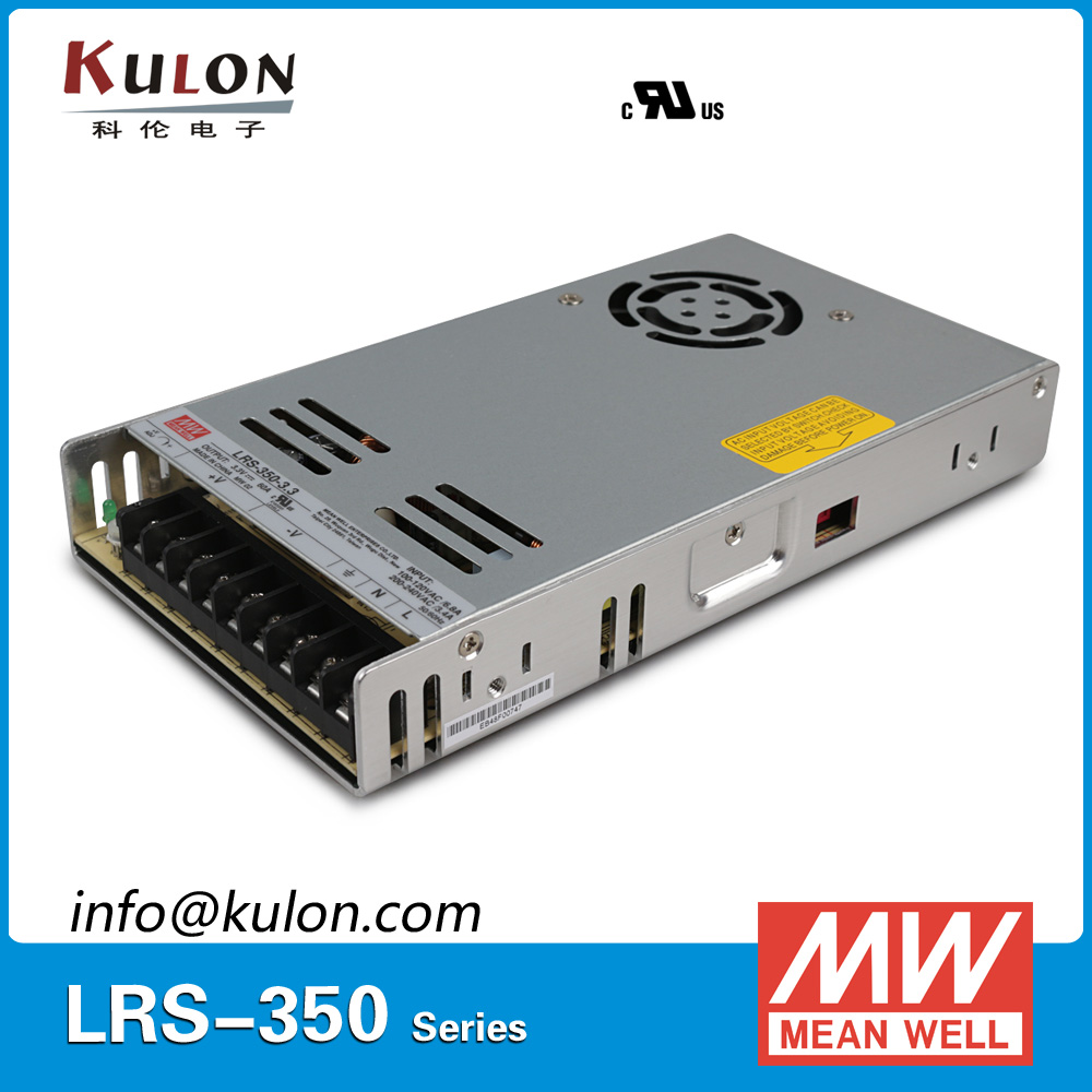 Original Mean Well LRS-350-3.3 198W 3.3V 60A 30mm thickness Meanwell Switching power supply 3.3V DC 60A<br>