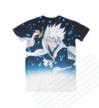 Real AMERICAN US Size bleach toshiro 3D Sublimation print Custom made T-shirt plus size