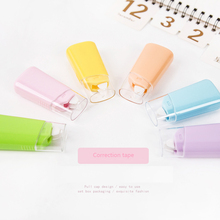6 Pcs/lot Candy Color Correction Tapes Combination Suit Student Creative Stationery Supplies 5m
