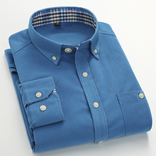 Free Shipping Brand Men's Shirt 2017 Main Push Men Shirts Fashion Corduroy Shirt Men's Casual Long-Sleeved Dress Shirt Slim Tops