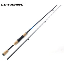 Go-Fishing Carbon Spinnin Fishing Rod M Line wt 6-12Lb Spinning Fish Hand Fishing Tackle Lure Rod Carbon lure rod