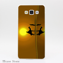 3668CA The road to Bethlehem Transparent Hard Cover Case for Galaxy A3 A5 A7 A8 Note 2 3 4 5 J5 J7 Grand 2 & Prime