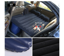Multiple colors New design waterproof back seat of car Air Cushion car travel bed air Outdoor sofa Quality Inflatable car bed
