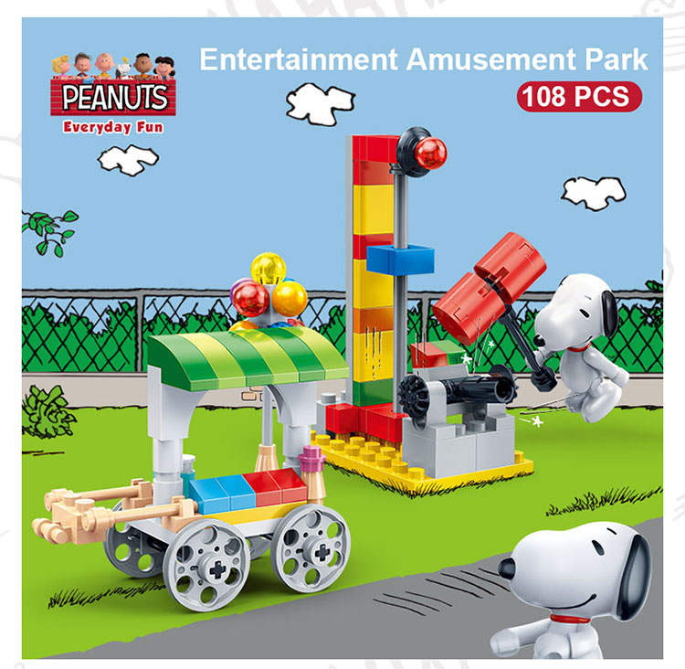 BanBao 7509 Entertainment Amusement Park Building Blocks 19