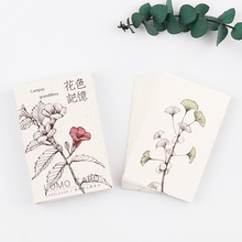 28pcs/pack Vintage Flower memory plant sample LOMO card greetings birthday card letter envelope gift card Craft message card(China)