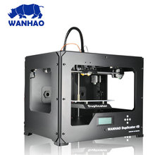 Buy WANHAO Duplicator 4 D4S extruder 3D Printer Dual color FDM house Printing machine for $429.00 in AliExpress store