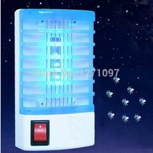 220V Socket Electric Mini Mosquito Lamp LED Mosquito Repeller killing Fly Bug Insect Trap Night Lamp Killer