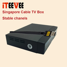 FREE SAT V9 PRO FOR starhub tv box HD from freesat v8 golden blackbox cable channels stable(China)