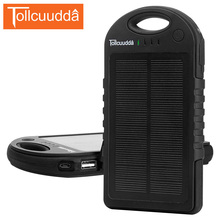 Buy Tollcuudda Solar Phone Power Bank 12000mAH phone Mobile Battery Waterproof Charger Solar Poverbank Portable Powerbank for $38.49 in AliExpress store