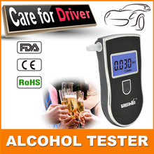 2015 Patent Prefessional Police Digital Breath Alcohol Tester Breathalyzer with Mouthpiece 3 convertible units Breathalyzer