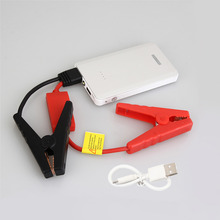 Silver Color 30000mAh Car Jump Starter Mini Emergency Charger Battery Booster Power Bank Jump Starter for Car Phone