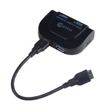 Portable Super Speed 5Gbps 4 Port USB Splitter USB 3.0 HUB For Windows/Mac/OS or Linux Systems