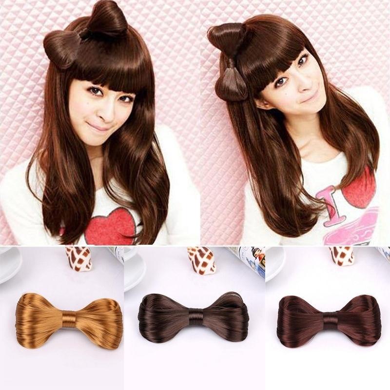 Ties Wig Hot Sale Bow Ties Wig Hairpin Hair Clips Girl/'s Wig Hairpin Hairpin