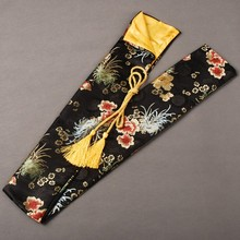 Beautiful and Exquisite Flower Pattern Silk Sword Bag for Japanese Samurai Sword Katana Fitting Nice and Elegant Patterns QD11(China)