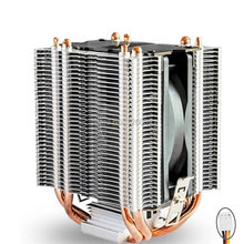CPU cooler 9cm fan 4 heatpipe cooler for Intel LGA775 1150 1151 115x 1366 Cooling for AMD radiator fan CoolerBoss CAH-409-10