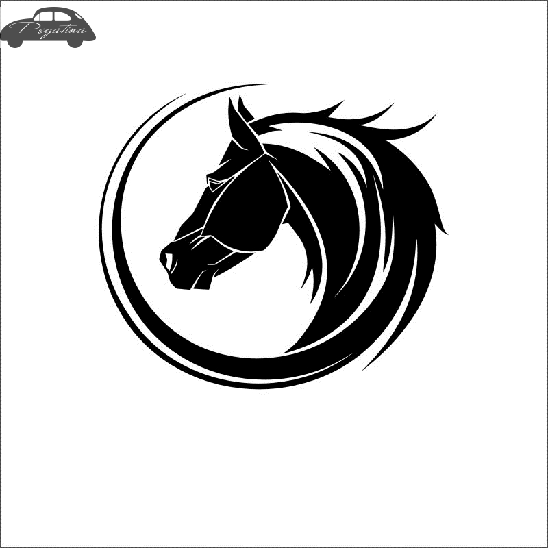 Horse Riding Sticker Decal Posters Vinyl Wall Decals Pegatina Quadro Parede Decor Mural Animal Sticker 719