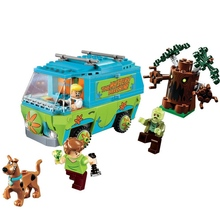 ZXZ The Mystery Machine Bus Legoing Scooby Doo Series 305 Pcs Bricks Building Blocks Toys Compatible With Lepin Legoing 75902