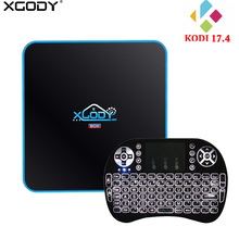 XGODY 3GB 32GB TV Box Android 7.1 Amlogic S912 Octa Core WiFi Bluetooth 4K Kodi 17.4 Streaming box TV Receiver Best Media Player(China)