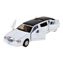 BOHS Extended Limo Toy Car Limousine Diecast Vehicle Models 1:32 Alloy Pullback Model Children's Toys(China)