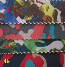 2.5MM colorful camouflage printed SRB rubber Neoprene fabrics material(China)
