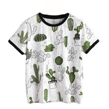 Woman Tshirt Top 2017 t shirt Women Embroidered Short Sleeve Floral Print Casual Tops Roupas Femininas #00(China)
