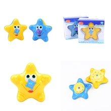 high quality Bathing water bath toy starfish BABY sassy toys Swimming toys 1 pcs