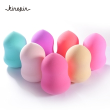 1PC Beauty Cosmetic Powder Puff Foundation Facial Makeup Sponge Makeup Flawless Beauty Powder Puffs Make Up Sponge beauty tools(China)