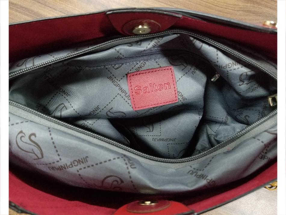 Leather Bag Luxury PU Women Shoulder Bags Handbag Brand Designer Bags New 17 Fashion Ladies Hand Bag Women's Bolsa Feminina 16