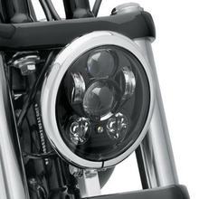 "Free shipping 5.75"" HID LED High Low Beam 5 3/4"" Front Driving Head Light Headlamp For Harley Davidson Motorcycle Daymaker"