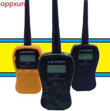 oppxun LEIXEN handheld frequency counter Frequency measurement device N8 interphone Digital Analog Tone same with I-77