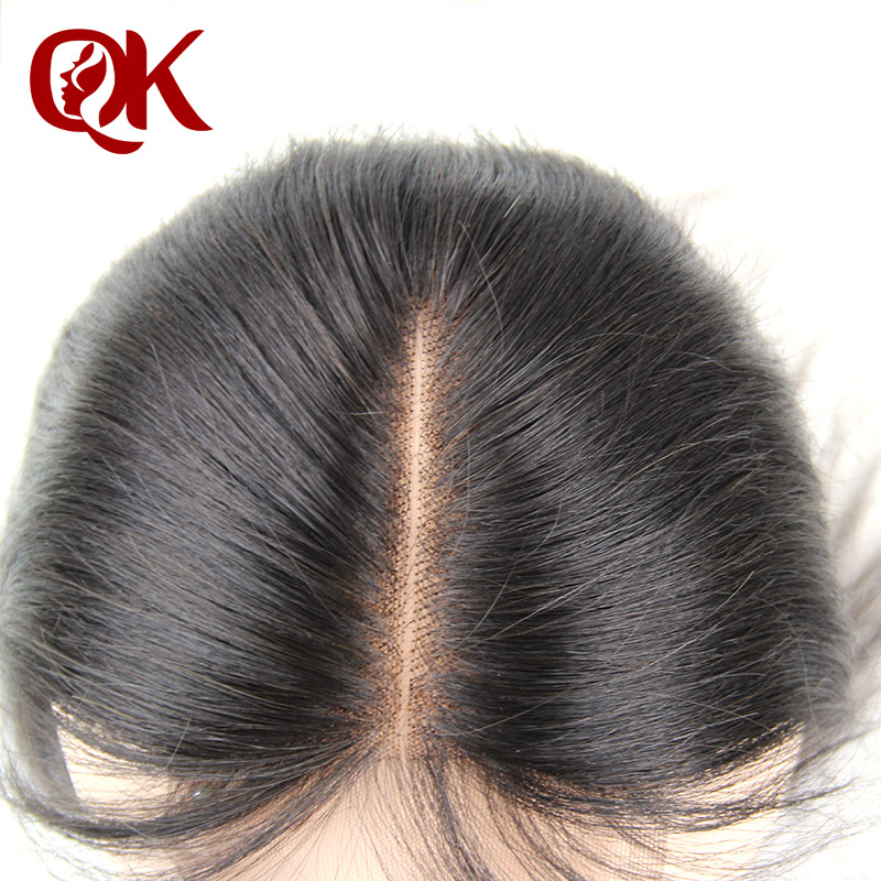 Brazilian Virgin Lace Closure 4x4 Middle Part Silk Straight Hair Closure French Lace Bleached Knots Unprocessed  Straight Hair<br><br>Aliexpress