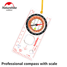 Naturehike Factory compass directional cross-country race/hiking special compass Hiking Climbing proffesional Compass with scale