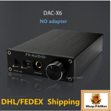 FX-AUDIO DAC-X6 HiFi 2.0 Headphone Amplifier  Digital Audio Decoder DAC Input USB/Coaxial/Optical Output RCA 24Bit/192KHz DC12V