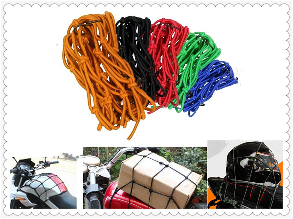 Motorcycle universal bag helmet 30*30cm baggage bike luggage Cargo net cover for Ducati 996 996B SPS R 998B S R998S Bostrom