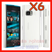 X6 Unlocked Original Nokia X6 Cell Phone Mobile Phone 8G 3G WIFI GPS 5MP Cellphones