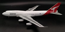 IF 1:200 Australian Airlines Boeing 747 VH-EBT alloy airliner model Collection model Holiday gift