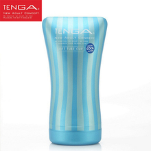 TENGA COOL Deep Throat Sex Cup Male Masturbation Toy Masturbation Cup Oral Sex Toy Men Masturbator for Man Sex Toys for Men(China)