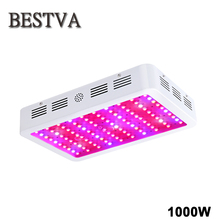 BestVA 1000W Full Spectrum High Yield LED Grow Light For plants hydroponics Veg Flower Fruit indoor greenhouse grow tent lamps(China)