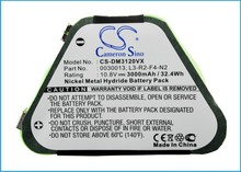 Battery For DIRT DEVIL M030, M3120 (3000mAh)