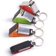 4 Style Color Key Chain Leather Metal 8GB 16GB 32GB 128GB 2.0 USB Pendrive 64GB Flash Drive Pendrive Memory Stick Gift 1tb 2tb(China)