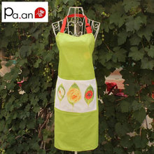 Fashion 100% cotton simple printed Apron male and female home service to the kitchen dining room service value(China)