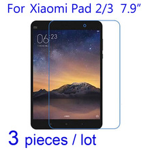 3pcs/pack Screen Protector Clear/Matte/Nano Anti-Explosion Protective Films for Xiaomi Xiomi Mi Pad Mipad 1 2 3 LCD Guard Cover(China)