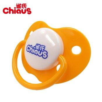 Livraison Gratuite 1 pcs Chiaus Bébé Sucettes Sucette En Forme de Coeur Silicone + PP> 6 mois SANS BPA Tétines mamelons Bébé D'alimentation