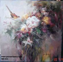 Wholesale flower / floral ART Oil Paintings  impression flower Paintings canvas no frame