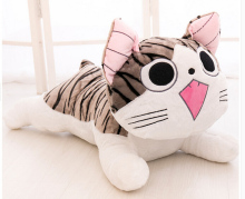 Kids Toys Gift For Boys Girls Japan Anime Figure Cheese Cat Plush Animals Stuffed Toy Doll Pillow Cushion 20cm Free Shipping